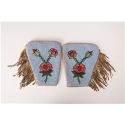 "Shoshone Fully Beaded Cuffs, 9"" x 8"""