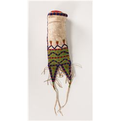 Northern Plains Beaded Woman's Tab-Style Bag