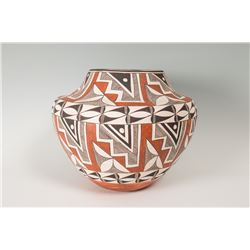 "Acoma Pot by Maria Z. Chino, 12 ½"" x 15 ½"""