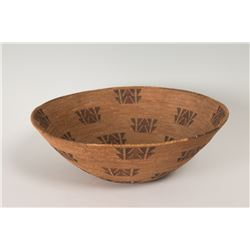 "Mono North California Basketry Bowl, 5"" x 15"""