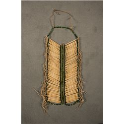 "Northern Plains Beaded Man's Hairpipe Breastplate, 26"" long"