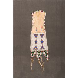 "Northern Plains Beaded Tab-Style Bag, 18 ½"" x 7"""