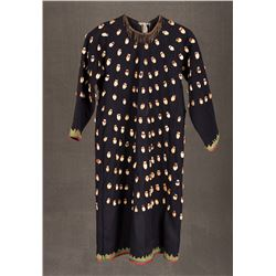 "Northern Plains Woman's Elk Tooth Dress, 42"" long"