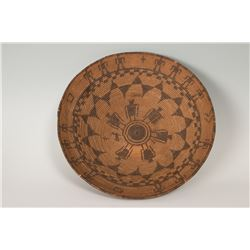 "Apache Basketry Tray, 4"" x 15 ½"""