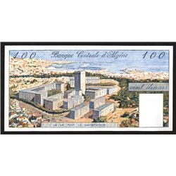 Banque Central d'Algerie. 1964 Issue.