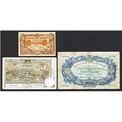 Banque Nationale de Belgique. 1914-38 Issues.