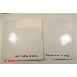 Banco Central Do Brazil, 1970 ND Issue Specimen Book Pair.