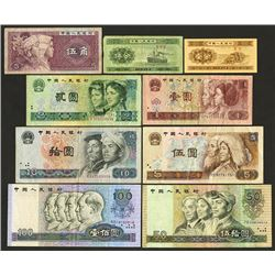 Peoples Republic Banknote Assortment.