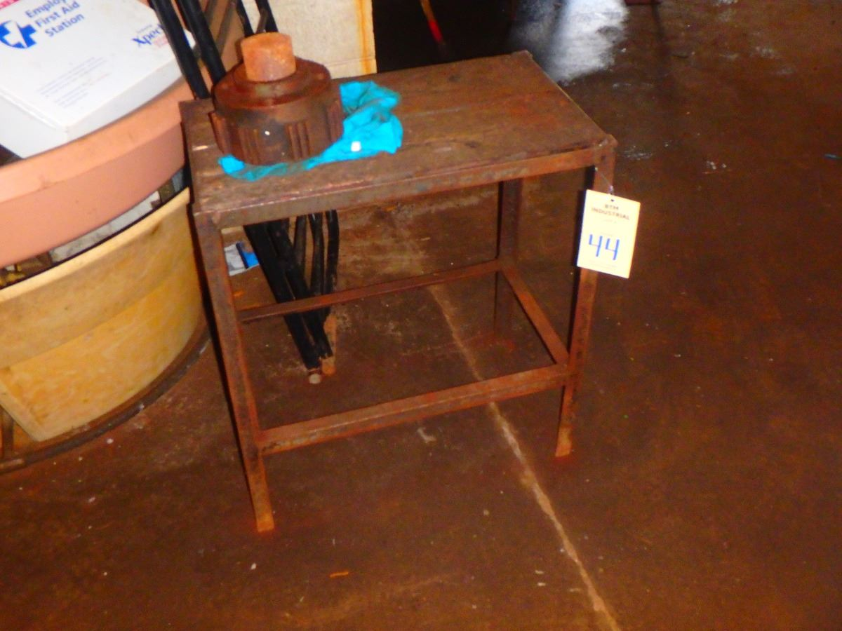 Steek work table dimensions 12 x 16 x 30 btm industrial for 12 x 30 table