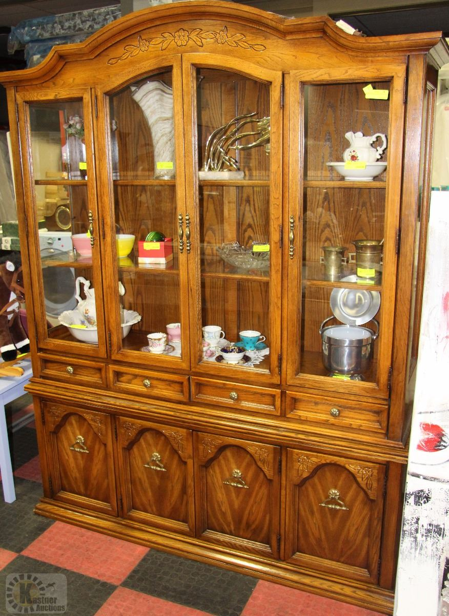 Wooden China Hutch ~ Wooden china cabinet hutch