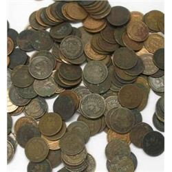 Lot of 50 Indian Head Pennies-ag-good