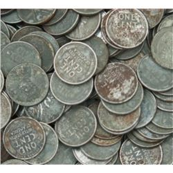 Lot of 50 Steel War Cents-
