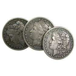 100 Year Old  Morgan Silver Dollar- 1878-1904
