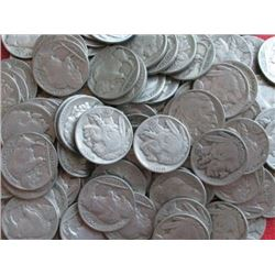 LOT OF 300 BUFFALO NICKELS-