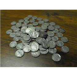 Lot of 100 Buffalo Nickels- Various Readable DATE