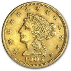 $2.5 Liberty Indian Gold Random Date