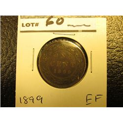 1899 Canada Large Cent. EF.