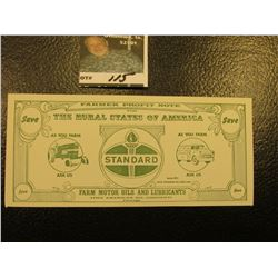 """Farmer Profit Note for the Rural States of America As You Farm Ask Us Series 1971 Standard Farm Mot"