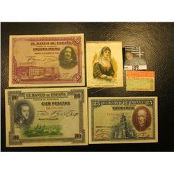 """Factory No. 7. 5th Dist. N.J. """"Isabella, Queen of Spain, 1494-1504 Nebo Cigarettes Silkie; """"The Unio"""