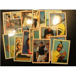 "1982 Topps ""Tony Perez"" # 256 Card with his personal Autograph; & (17) other 30+ year old Famous Bas"