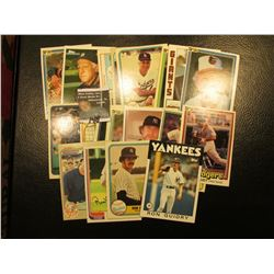 """1981 Donruss """"Steve Garvey"""" # 176 Card with his personal Autograph; & (22) other 30+ year old Famous"""