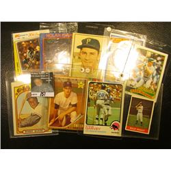 "1982 Topps ""Steve Garvey MVP"" Kmart 20th Anniversary Card with original autograph; & (10) Other All"