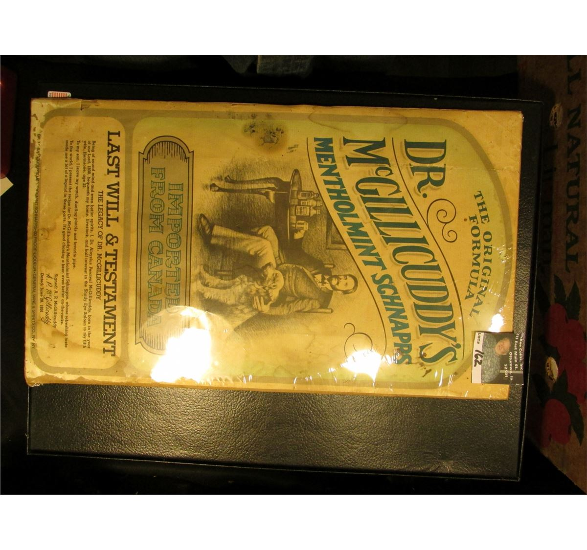 The Original Formula Dr. McGillicuddy\'s Menthomint Schnapps Imported ...