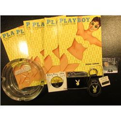 I understand Hugh sold his mansion, so here are the goodies to go with it. Check out this Playboy me