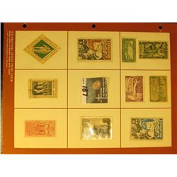 A nice group of early Exposition & Olympic Postage Stamps. Most are Mint, some used, all are hinged.