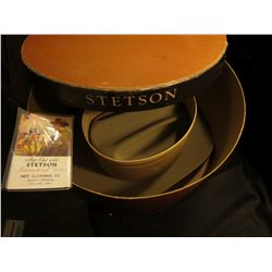 Size 8 Men's Stetson Western Style Felt Hat in original box & a large group of at least (20) 1939 er