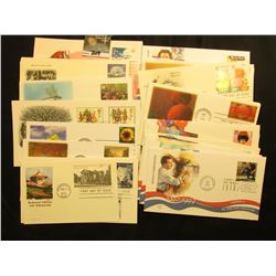 (50) 1995-2008 First Day Stamp Covers Singles and Sets.