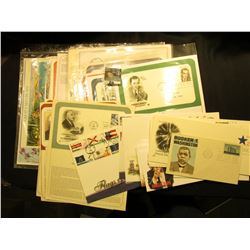 (55) 1956-2008 First Day Stamp Covers Singles, Sets and Some on Pages.