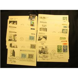 (32) 1955-1961United Nations First Day Covers
