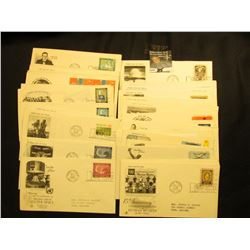 (42) 1962-1964 United Nations First Day Covers.