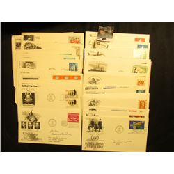 (33) 1965-1968 United Nations First Day Covers.