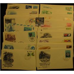 (55) United Nations and various Foreign First Day Covers. Most are 1970-80 era.