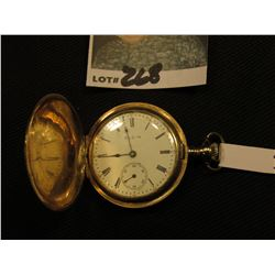 Women's Pocket Watch, Elgin 15 Jewel Movement # 14360270, Case # 8068616, 25 Year Gold-filled. Does