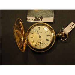 Waltham Watch. Movement # 6141844, Case # 6476283 20 Year Gold-filled, Phil Watch Case Co., Looks an