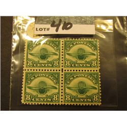Scott C#4 Airmail. Block of 4 Mint Never Hinged.