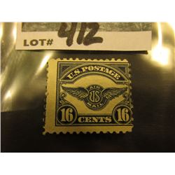 Scott C#5 Airmail. Mint Hinge Rement.