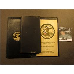 "Folding Wallet with notepad and address book ""Illinois Manufacturers Association Seveteenth Annual D"
