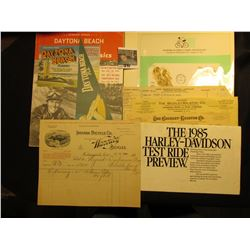 """""""First Day of Issue Olympic Summer Games XX Olypiad Munich 1972"""" Cover; Invoice Jul 11 1899 """"Indiana"""