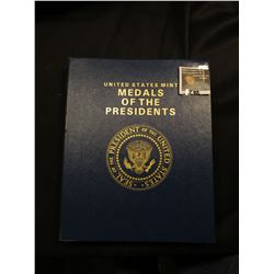 "Paperback Book ""The Presidents of the United States of America"" & a Set of the ""U.S. Mint Medals of"