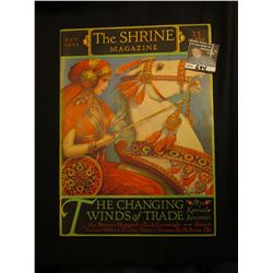 "Oct. 1926 ""The Shrine Magazine"", ""The Changing Winds of Trade"", by Konrad Bercovici. Gorgeous cover"