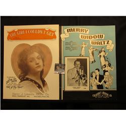 """The Girl I Couldn't Get"" Dotty Ray Greene, ""Merry Widow Waltz"" by Tommy Dorsey & Orchestra. Music S"