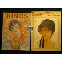 """Rings"" By Alex Sullivan & Lou Handman, ""Somebody Misses Sombody's Kisses"" By Frank Davis & M. Priva"
