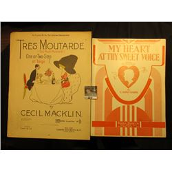 """Tres Moutarde"" Too Much Mustard, By Cecil Macklin, ""My Heart at Thy Sweet Voice"" By C. Saint-Saens."