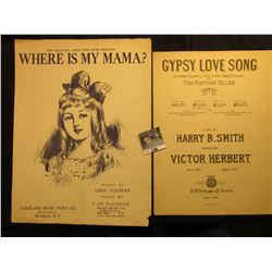 """Where Is My Mama"" The greatest child song ever written. By Chas. Coleman & T Jay Flanagan, ""Gypsy L"