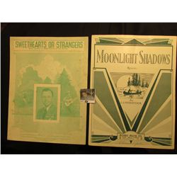 """Sweethearts or Strangers"" By Jimmie Davis & Lou Wayne, ""Moonlight Shadows"" By J. J. Fitzpatrick. Mu"
