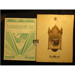 """Polish Dance"" By Scharwenka, ""Londonderry Air"" By Porter. Music Sheets."